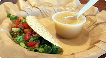 Qdoba Mexican Food Iowa - Kids Taco Meal