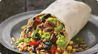Qdoba Mexican Food Iowa - Burritos